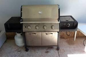 Everdure four burner bbq + wok burner Bicton Melville Area Preview