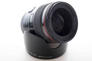 Canon 24-105mm F4 L Series Lens + Pouch + Kenko UV Filter Canley Vale Fairfield Area Preview