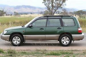 2001 Subaru Forester Ltd Manual Holt Belconnen Area Preview