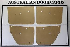 NEW Holden HK Set of 4 Laser Cut DOOR CARDS. Sedan, Wagon. QUALIT Wangaratta Wangaratta Area Preview