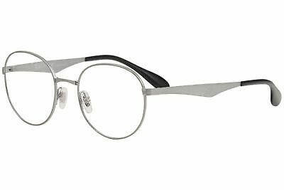 Ray Ban Men's Eyeglasses RX6343 RB/6343 RayBan 2553 Gunmetal Optical Frame (Ray Ban Opticals)