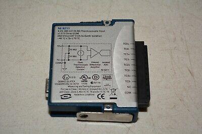 National Instruments Ni 9211 Cdaq Temperature Thermocouple Input Module M18