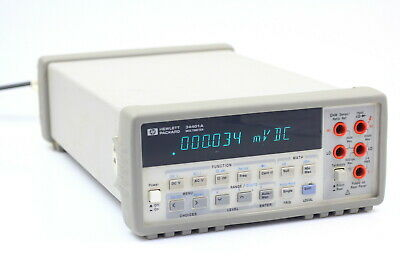 Hpagilent 34401a 6 12 Digit Digital Multimeter 6