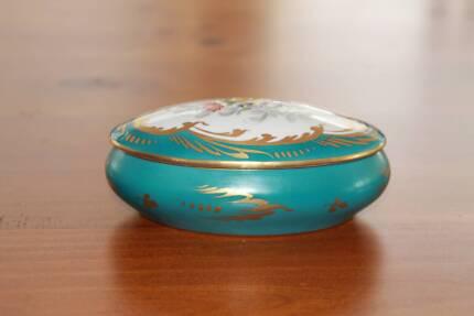 Limoges Porcelain larger trinket container West Pymble Ku-ring-gai Area Preview