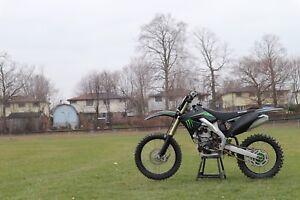 2009 Kawasaki kx250f monster edition
