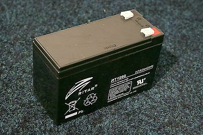 Ritar RT1290 - 12Volt 9.0 Amp Hour / 12V 9.0Ah cell perfect BAIT BOAT battery