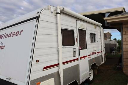 2007 Off road Windsor Rapid Pop Top Caravan
