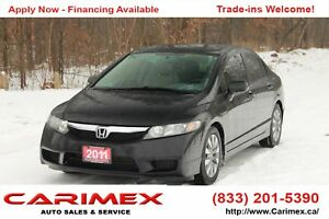 2011 Honda Civic EX-L Heated Seats | Leather | Sunroof