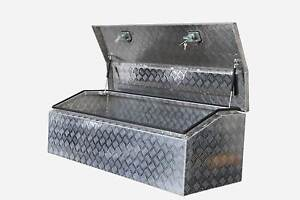 LARGE GULLWING TOOL BOX 1450MM (L) NEW IN BOX 2mm CHECKER PLATE Willow Vale Gold Coast North Preview