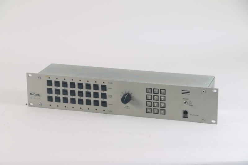 McCurdy TIF-8-CTL Telephone System