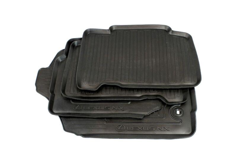 Genuine OEM Lexus NX Rubber Floor Mats PZ49KX2353RJ
