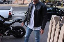 New Motorcycle jacket size 50 (independent line) Carlton North Melbourne City Preview