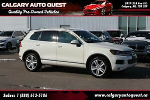 2012 Volkswagen Touareg TDI Execline NAVI/LEATHER/PANO-ROOF/MUST