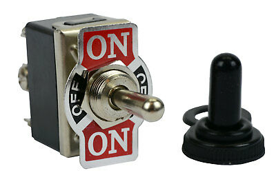 20a 125v Toggle Switch On-off-on Dpdt 6 Terminal Momentary 2 Sideboot