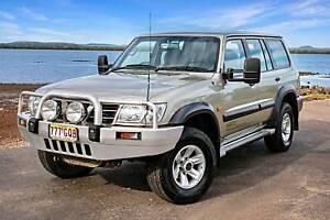 2002 Nissan Patrol St (4x4) 5 Sp Auto Sports Shift 4d Wagon