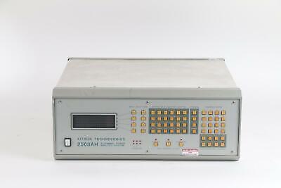 Xitron Technologies 2503ah-3chre Three Channel High Performance Power Analyzer
