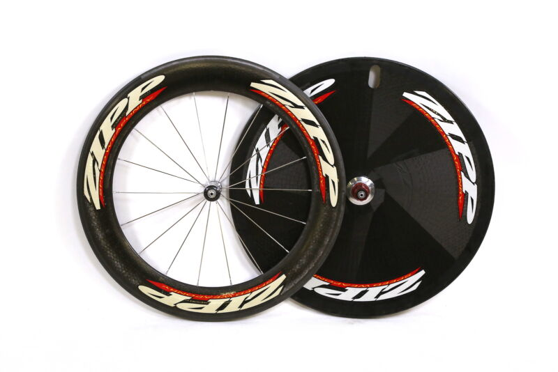 Zipp 999 Disc Speed Weaponry Carbon Road Bike Wheelset Tubular 10 Speed/Fixed