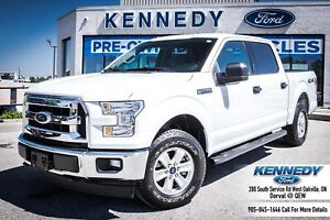 2017 Ford F-150 XLT4x4 Crew  Tow Pkg Camera Bluetooth Cruise