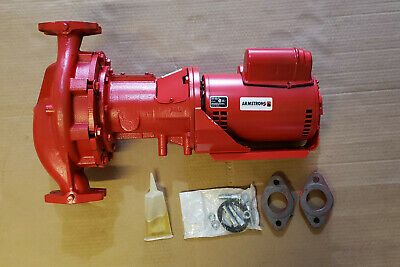 Armstrong Pump H-64-1bf 1-12 Cast Iron Bronze-fitted Circulator Pump 34 Hp