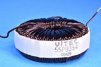 High Current Toroid Inductor 1.25mh 7a 2.5 Pfc Amplifier Crossover Pro-audio