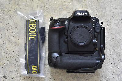 Nikon D D800E 36.3MP Digital SLR Camera - Black (Body Only) Shutter 42k (Nikon D800 36-3 Mp Digital Slr Camera)