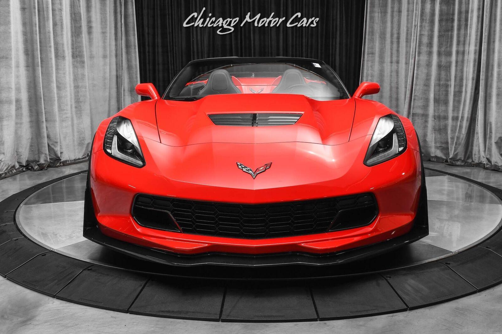 2015 Red Chevrolet Corvette Z06 2LZ | C7 Corvette Photo 7