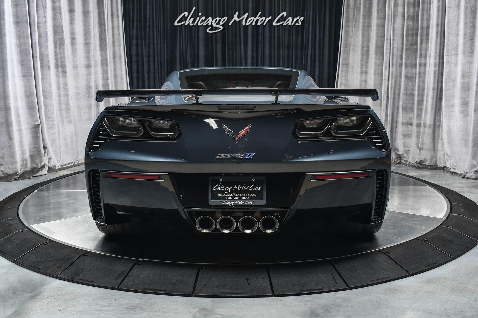 2019 Gray Chevrolet Corvette ZR1  | C7 Corvette Photo 4