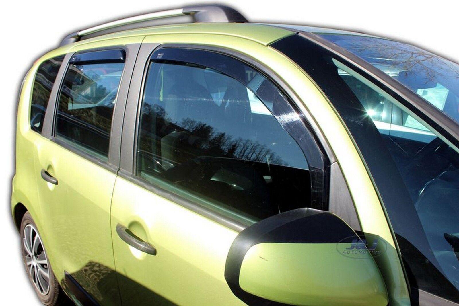 Deflecteurs dair D/éflecteurs de Vent Compatible avec Citroen C3 Picasso 2009-2016 2pcs J/&J AUTOMOTIVE