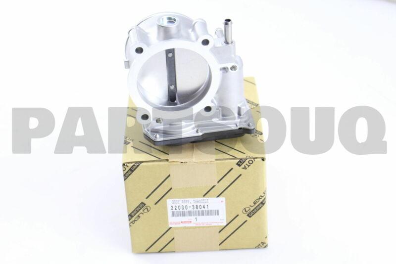 2203038041 Genuine Toyota Body Assy, Throttle W/motor 22030-38041