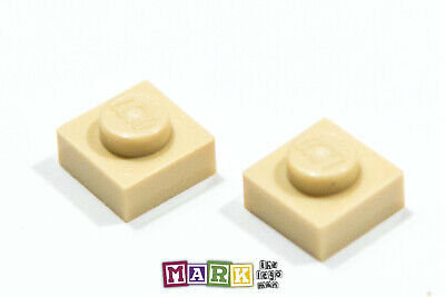 Pack of 2 Lego 3024 1x1 Plate 4159553