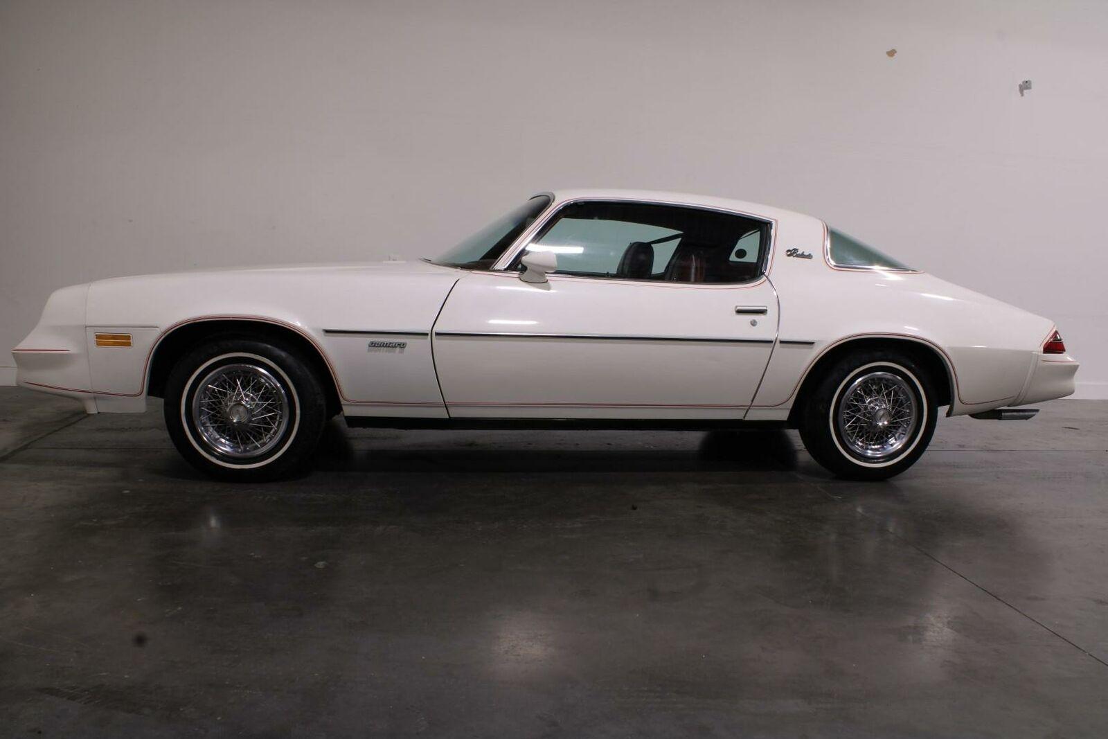 1980 Chevrolet Camaro V8 Automatic Coupe  White