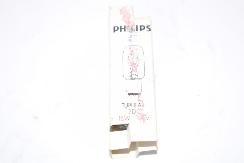 NEW Phillips Tubular T7DC Light Bulb 15W, 120V