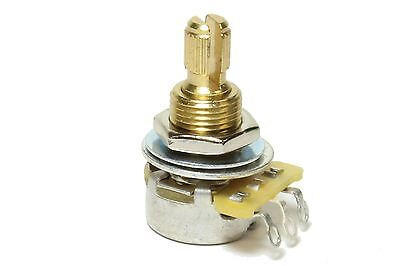 - CTS 500K Split Shaft Audio Taper Mini Potentiometer Pot US Fine Spline