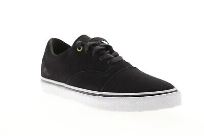 Emerica Provider 6102000127067 Mens Gray Suede Lace Up Athle