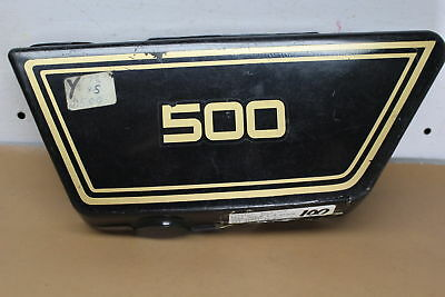 1978 <em>YAMAHA</em> XS500 LEFT SIDE COVER PANEL YTPU56