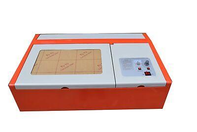 40w Co2 12x8 Inches Diy Desktop Wood Laser Engraver Cutter With Exhaust Fan