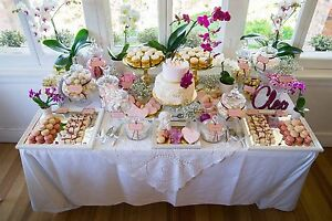 Lolly Desert Buffet Set Up or Glassware and decoration hire Southbank Melbourne City Preview