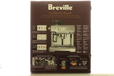NEW Breville The Oracle Touch Coffee Machine Latte Cappuccin