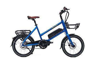 Mid-drive 500W Compact Electric Bike 48V Cargo Ebike