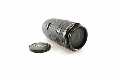 Canon Ultrasonic EF 70-300mm f/4-5.6 IS USM Camera Lens W/ Caps