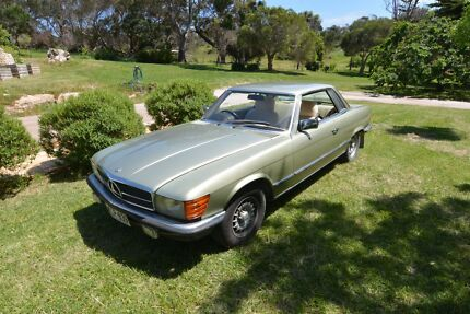 Mercedes 380SLC 1981 - The Cruiser