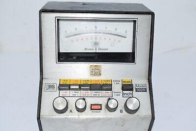 Brown Sharpe 599-1020 Precision Micrometer Model 1020