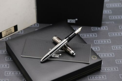 Montblanc Meisterstück Hematite Steel LeGrand 146 Fountain Pen - UNUSED