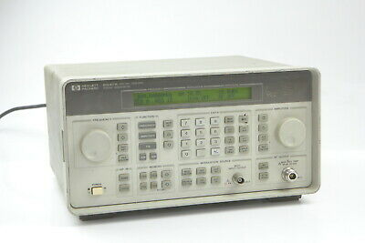 Hp 8647a Synthesized Signal Generator 250 Khz-1000 Mhz H03 6