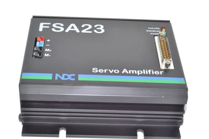NDC FSA23 Servo Amplifier 16096-08A FSA 23II