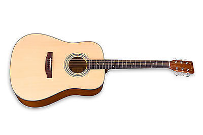 Zager EZ-Play ZAD20E Natural Acoustic Electric Guitar