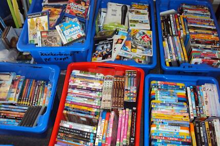 Massive DVD & Computer / Video games & Bric-A-Brac Sale McDowall Brisbane North West Preview