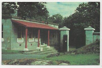 Postcard, Canada, Fort Rodd Hill Historic Park - Upper Battery Guardhouse