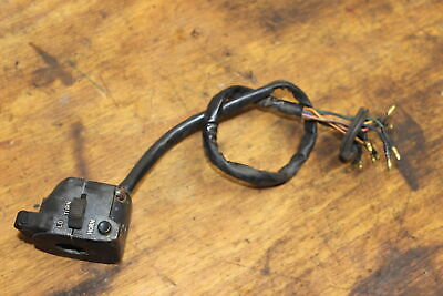 1978 YAMAHA XS500 LEFT CLIP ON HANDLE HORN SIGNALS SWITCH SWITCHES