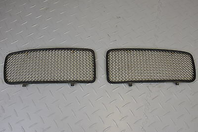 JAGUAR X300 XJ6 LEFT RIGHT PAIR MESH GRILLE XJR SUPERCHARGED HNA5503EA RADIATOR